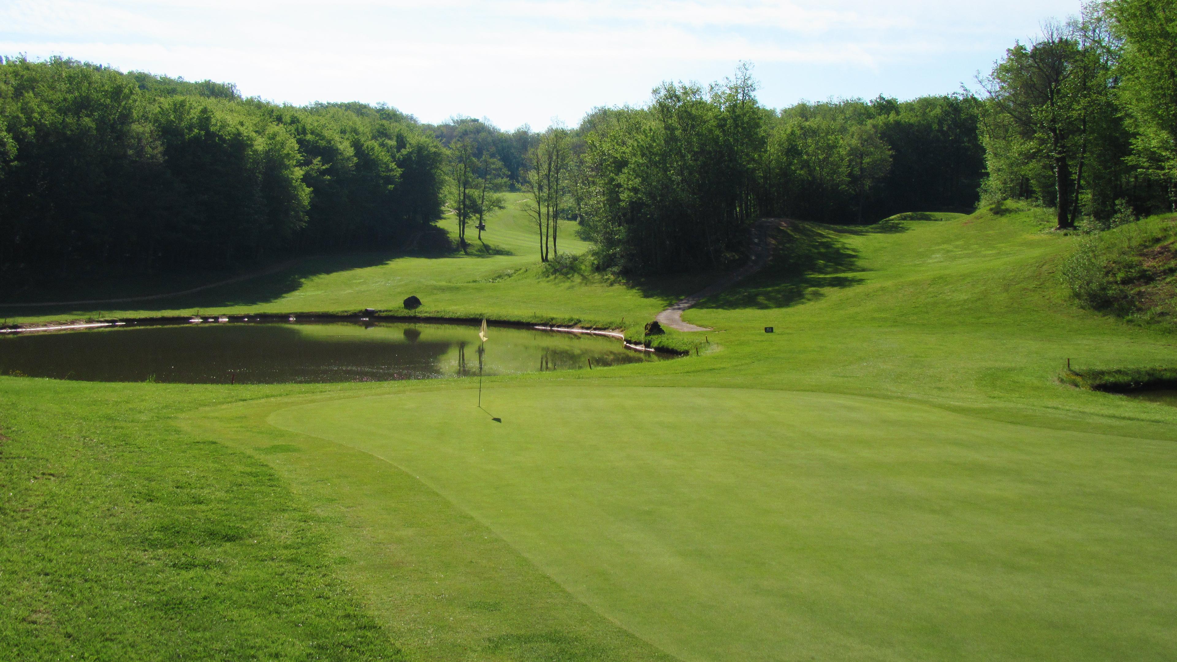 Trou numéro 9 - Golf de Souillac - Vallée de la Dordogne