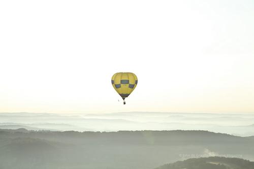 Vol en Montgolfière Dordogne, une vision unique des fleuves vue du ciel