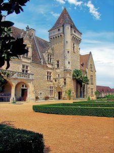 Château et jardin des Milandes près de Sarlat